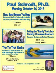 3-in-1 Schrodt event flyer